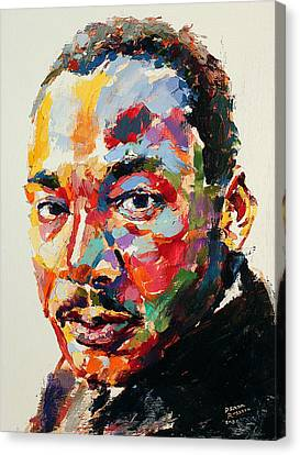 Pioneers Canvas Print - MLK by Derek Russell