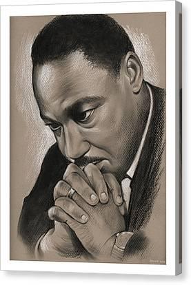 MLK Canvas Print