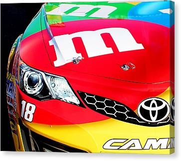 Mm's Nascar Canvas Print