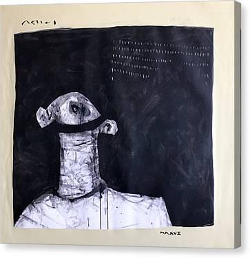 Mmxvii Innocence  Canvas Print by Mark M Mellon