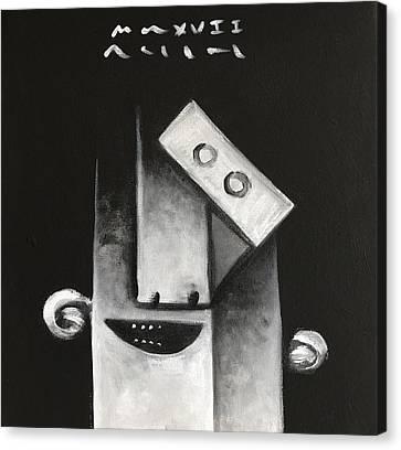 Mmxvii Masks For Despair  Canvas Print by Mark M Mellon