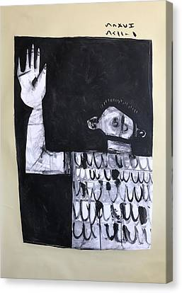 Mmxvii Surrender Canvas Print by Mark M Mellon