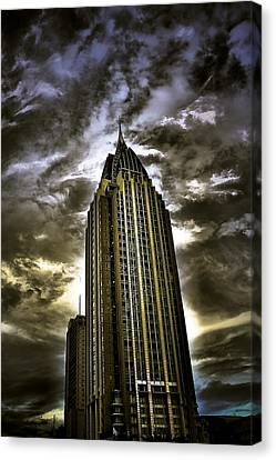 Mobile Al Gotham Canvas Print