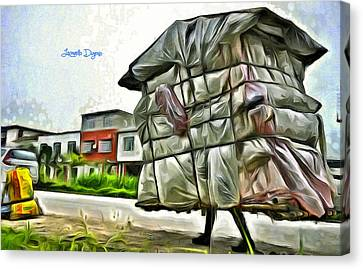 Unit Canvas Print - Mobile Home by Leonardo Digenio