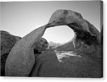 Mobius Arch Canvas Print by Mike Irwin