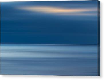 La Jolla Art Canvas Print - M'ocean 10 by Peter Tellone