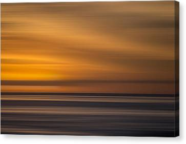 La Jolla Art Canvas Print - M'ocean 25 by Peter Tellone