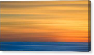La Jolla Art Canvas Print - M'ocean 3 by Peter Tellone