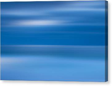 La Jolla Art Canvas Print - M'ocean 9 by Peter Tellone