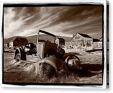 Model A Bodie Canvas Print by Steve Gadomski