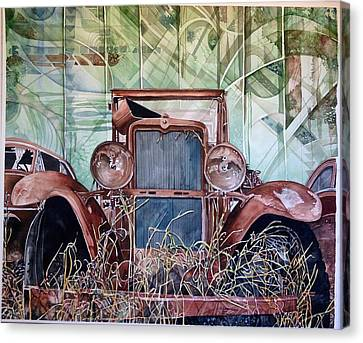 Model A Canvas Print by Lance Wurst