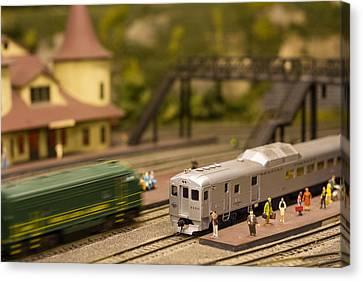 Model Trains Canvas Print