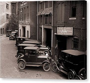 Model Ts, And One More Luxurious Canvas Print