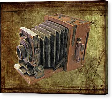 Model Vintage Field Camera Canvas Print by Kenneth William Caleno