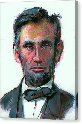 Modern Abe Canvas Print