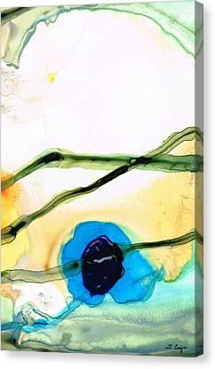 Modern Abstract Art - A Perfect Moment - Sharon Cummings Canvas Print