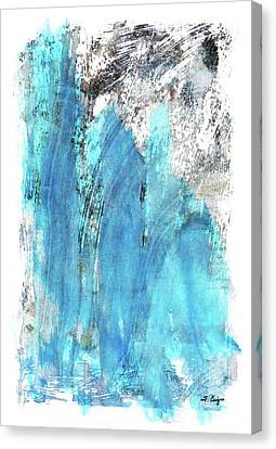 Modern Abstract Art - Blue Essence - Sharon Cummings Canvas Print by Sharon Cummings