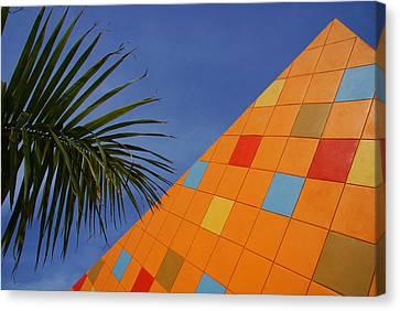 Modern Architecture Canvas Print by Susanne Van Hulst