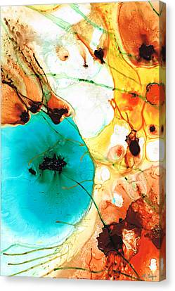 Modern Art - Potential - Sharon Cummings Canvas Print by Sharon Cummings