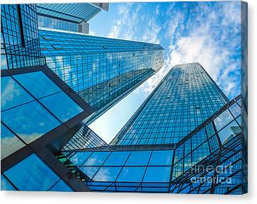 Modern Business Skyscrapers Canvas Print