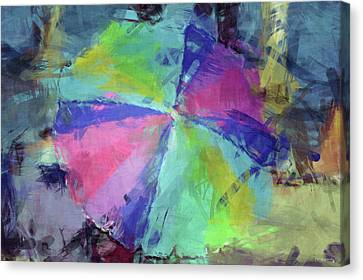 Blue Grapes Canvas Print - Modern Contemporary 15 by Ken Figurski