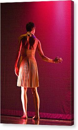 Modern Dance 17 Canvas Print by Catherine Sobredo