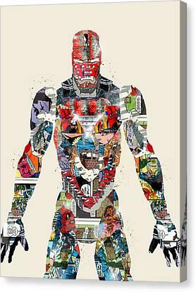 Modern Ironman Canvas Print by Bri B