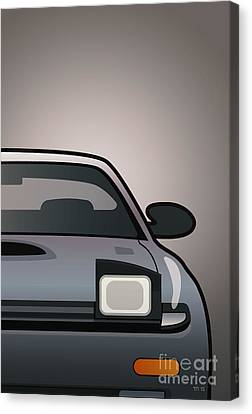 Modern Japanese Icons Series Toyota Celica  Gt-four All-trac Turbo St185 Split Canvas Print by Monkey Crisis On Mars