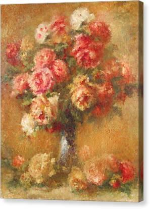 Modern Renoir Canvas Print by Georgiana Romanovna