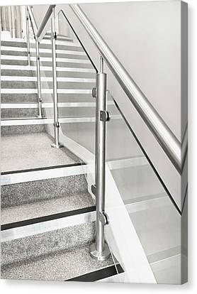 Modern Staircase Canvas Print by Tom Gowanlock