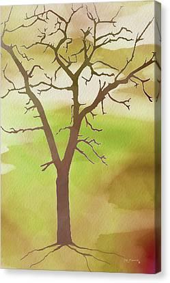 Modern Tree Art Canvas Print