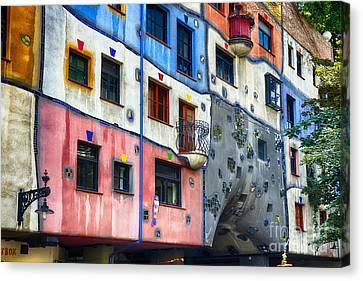 Modern Vienna Impression I Canvas Print