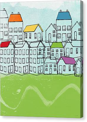 Modern Village Canvas Print