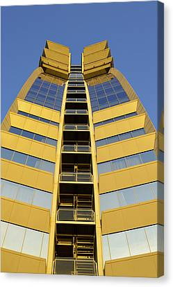 Canvas Print featuring the photograph Modern W Hotel Barcelona by Marek Stepan
