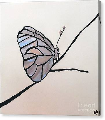 Modest Elegance Canvas Print by Jilian Cramb - AMothersFineArt