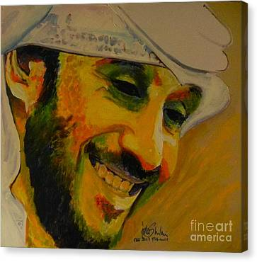 Mohammed Issa Al Mansoori  Canvas Print by Jolanta Shiloni