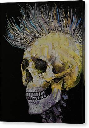 Shirt Canvas Print - Mohawk by Michael Creese