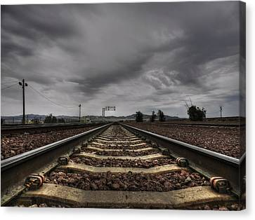 Mojave Hdr 009 Canvas Print by Lance Vaughn