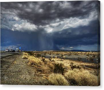 Mojave Hdr 021 Canvas Print by Lance Vaughn