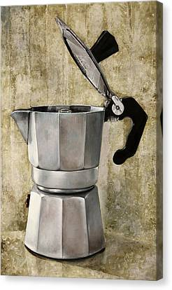 Moka Canvas Print by Guido Borelli