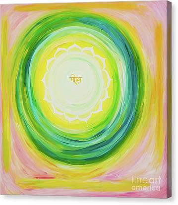 Moksh Yantra Canvas Print