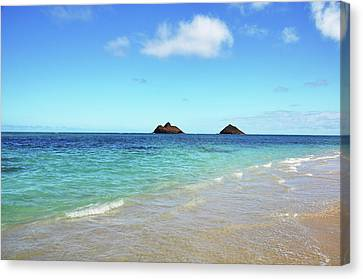 Mokulua Islands Canvas Print