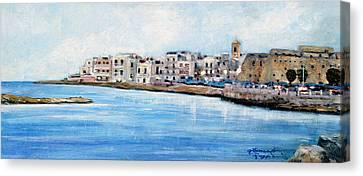 Mola Di Bari Canvas Print