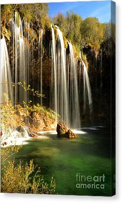 Molino De San Pedro Waterfall Canvas Print by RicardMN Photography