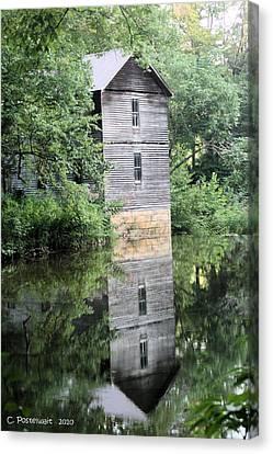 Mollohan Mill 3 Canvas Print by Carolyn Postelwait