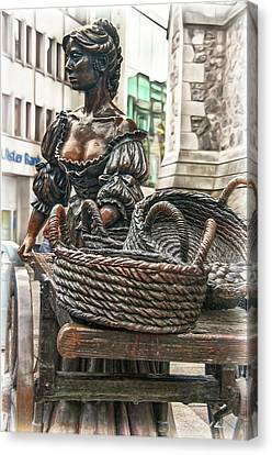 Canvas Print featuring the photograph Molly Malone by Hanny Heim