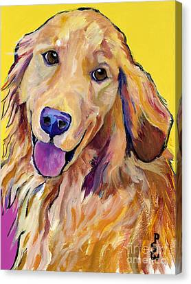 Molly Canvas Print by Pat Saunders-White