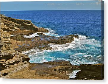Molokai Lookout 0649 Canvas Print by Michael Peychich
