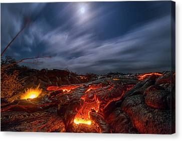 Molten Dream Canvas Print by Todd Kawasaki