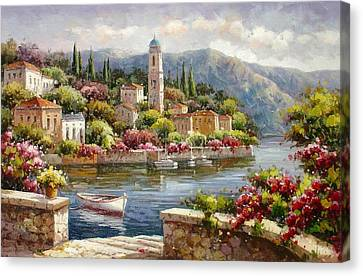 Moltrasio, Lake Como Canvas Print